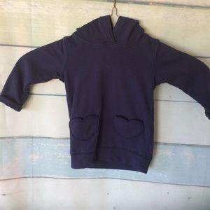 Carters Navy Blue Hoodie Pullover